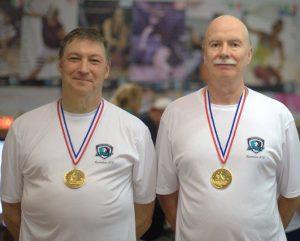 Barry Leb & Philip Enteles - B Doubles Winners