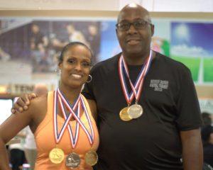 Marsha Johnson & Thomas Parks - Mixed A Winners