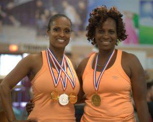 Marsha Johnson & Donna Jones - A Doubles Winners