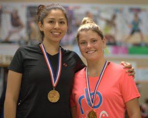 Alexandra Herrera & Jordan Cooperrider - Open Doubles Winners