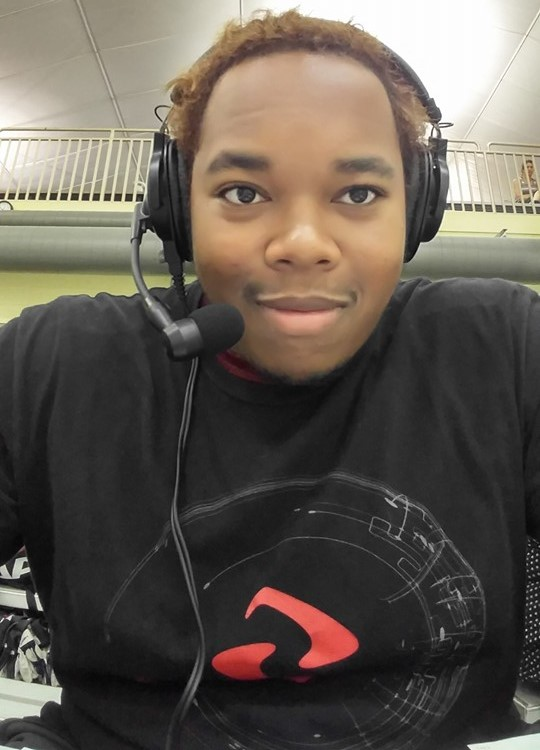Marquis Miller Commentating for the LPRT