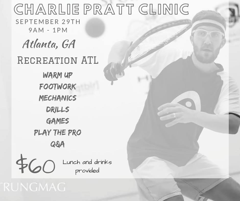 Charle Pratt Racquetball